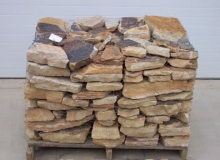 Brown Flat Stacked Stone