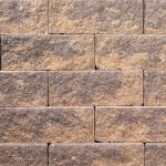 Harvest blend terrace wall stones
