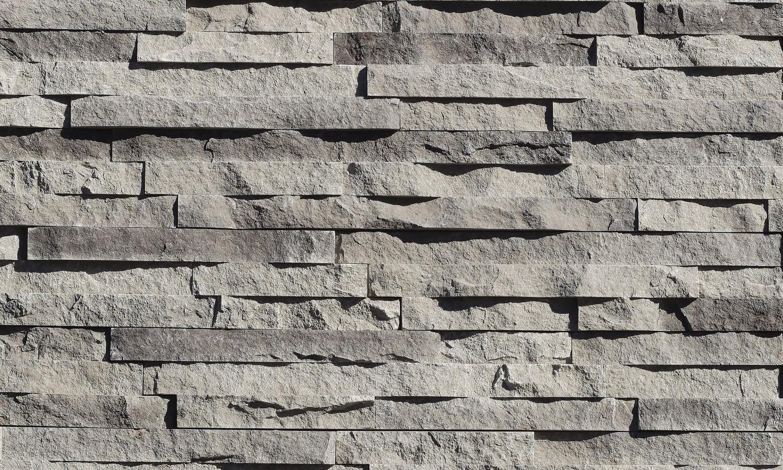 Stacked Stone Edging Landscape